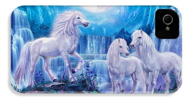 Night Horses IPhone 4 / 4s Case by Jan Patrik Krasny