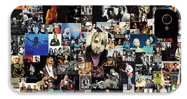 Nirvana Collage IPhone 4 / 4s Case by Taylan Soyturk