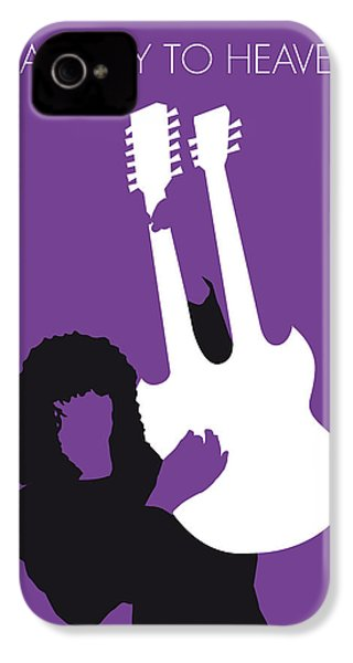 No011 My Led Zeppelin Minimal Music Poster IPhone 4 / 4s Case by Chungkong Art