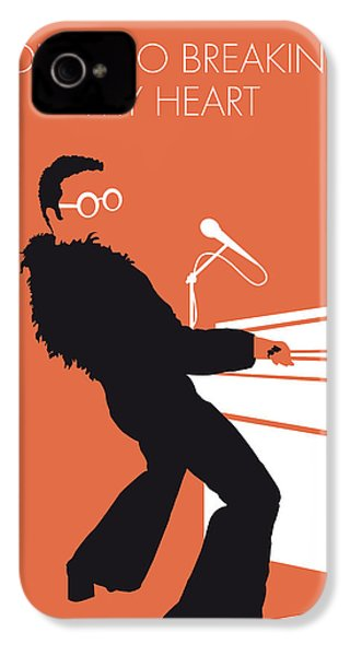 No053 My Elton John Minimal Music Poster IPhone 4 / 4s Case by Chungkong Art