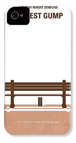 No193 My Forrest Gump Minimal Movie Poster IPhone 4 / 4s Case by Chungkong Art