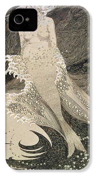 The Mermaid IPhone 4 / 4s Case by Sidney Herbert Sime