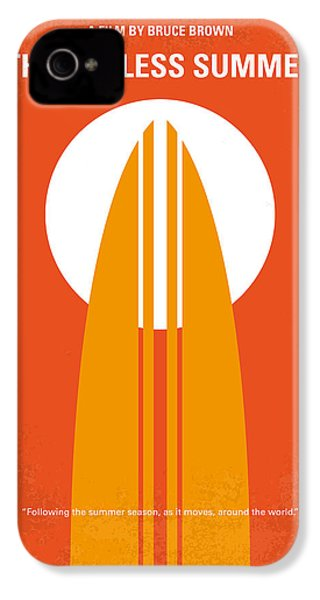 No274 My The Endless Summer Minimal Movie Poster IPhone 4 / 4s Case by Chungkong Art