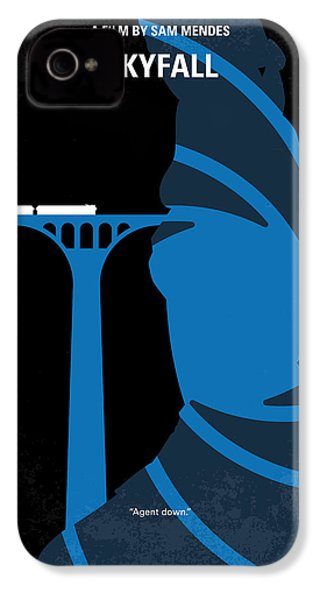 No277-007-2 My Skyfall Minimal Movie Poster IPhone 4 / 4s Case by Chungkong Art