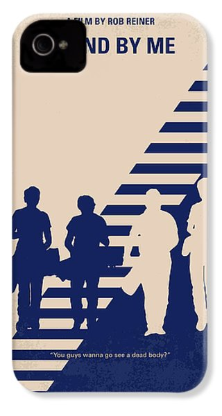 No429 My Stand By Me Minimal Movie Poster IPhone 4 / 4s Case by Chungkong Art