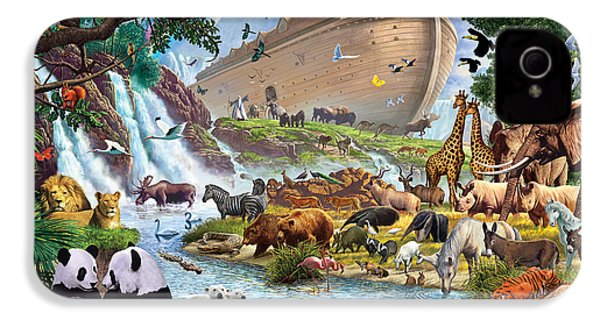 Noahs Ark - The Homecoming IPhone 4 / 4s Case by Steve Crisp