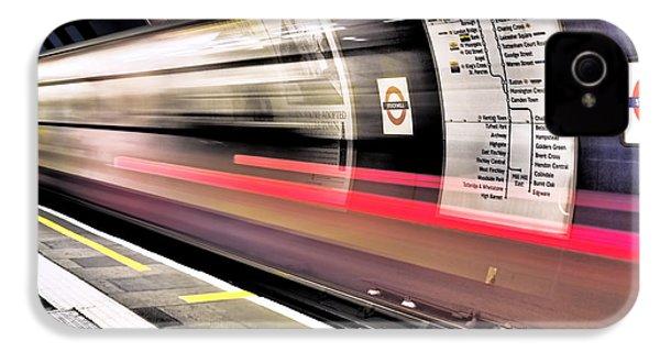 Northbound Underground IPhone 4 / 4s Case by Rona Black