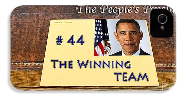 Number 44 - The Winning Team IPhone 4 / 4s Case by Terry Wallace