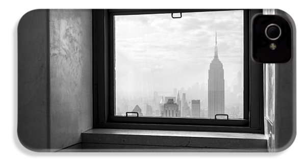 Nyc Room With A View IPhone 4 / 4s Case by Nina Papiorek