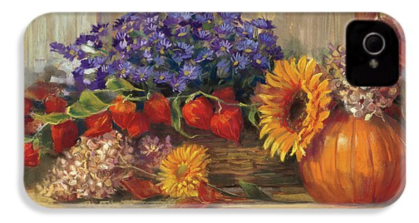 October Still Life IPhone 4 / 4s Case by Carol Rowan
