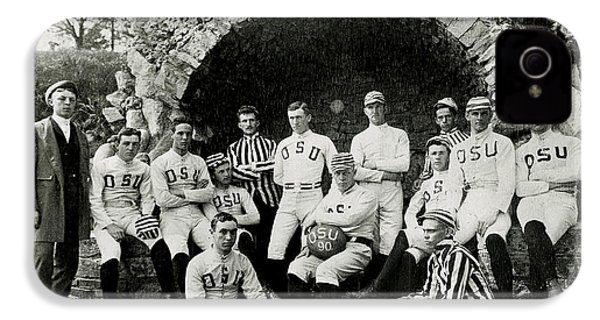 Ohio State Football Circa 1890 IPhone 4 / 4s Case by Jon Neidert