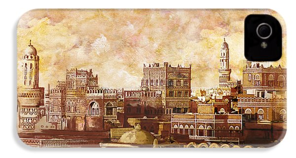 Old City Of Sanaa IPhone 4 / 4s Case by Catf