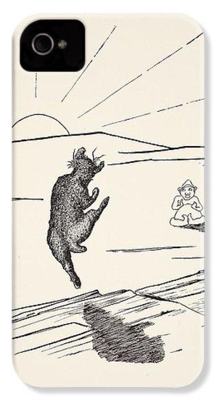 Old Man Kangaroo IPhone 4 / 4s Case by Rudyard Kipling