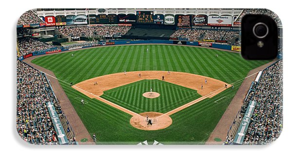 Old Yankee Stadium Photo IPhone 4 / 4s Case by Horsch Gallery