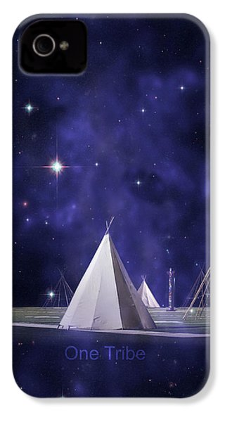 One Tribe IPhone 4 / 4s Case by Laura Fasulo