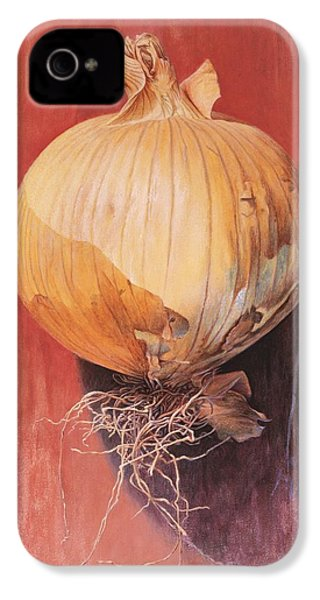 Onion IPhone 4 / 4s Case by Hans Droog