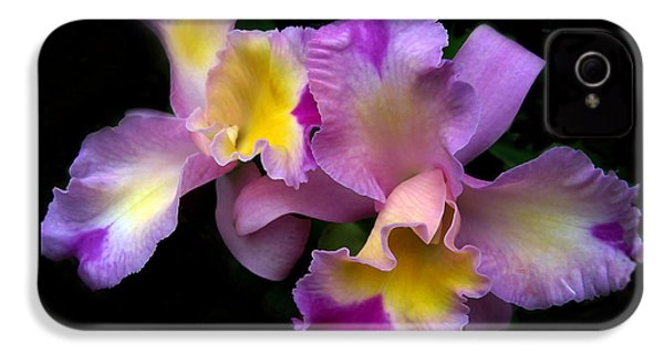 Orchid Embrace IPhone 4 / 4s Case by Jessica Jenney