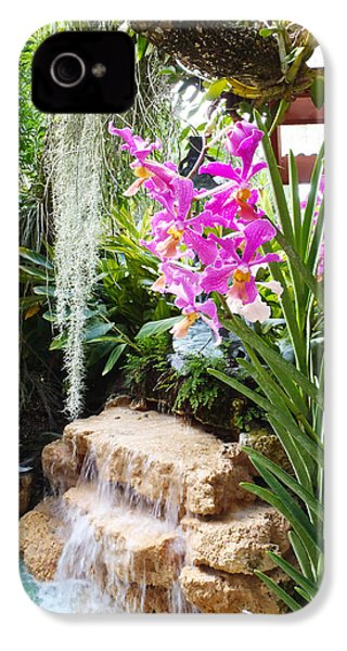 Orchid Garden IPhone 4 / 4s Case by Carey Chen