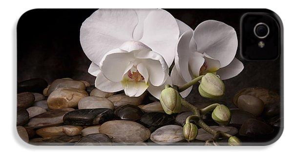 Orchid - Sensuous Virtue IPhone 4 / 4s Case by Tom Mc Nemar