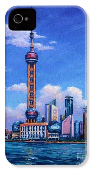 Oriental Pearl Shanghai IPhone 4 / 4s Case by John Clark