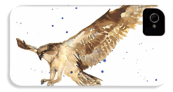 Osprey Painting IPhone 4 / 4s Case by Alison Fennell