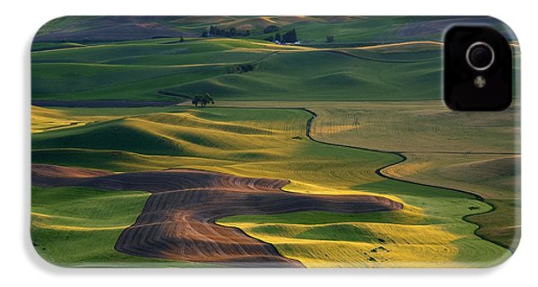 Palouse Shadows IPhone 4 / 4s Case by Mike  Dawson