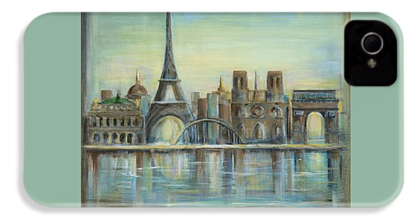 Paris Highlights IPhone 4 / 4s Case by Marilyn Dunlap