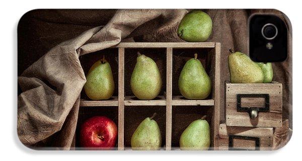 Pears On Display Still Life IPhone 4 / 4s Case by Tom Mc Nemar