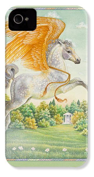 Pegasus IPhone 4 / 4s Case by Lynn Bywaters