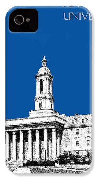 Penn State University - Royal Blue IPhone 4 / 4s Case by DB Artist