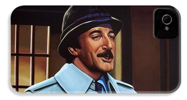 Peter Sellers As Inspector Clouseau  IPhone 4 / 4s Case by Paul Meijering