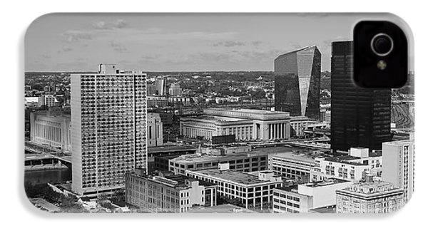Philadelphia - A View Across The Schuylkill River IPhone 4 / 4s Case by Rona Black