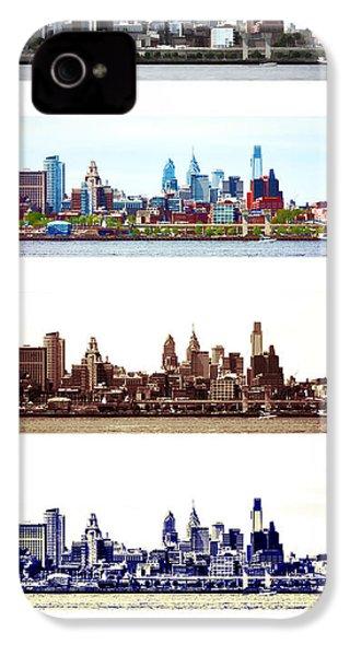 Philadelphia Four Seasons IPhone 4 / 4s Case by Olivier Le Queinec