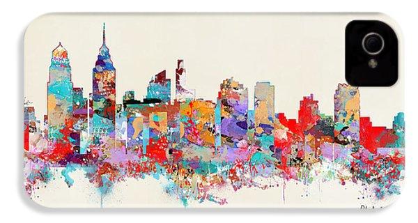 Philadelphia Skyline IPhone 4 / 4s Case by Bri B