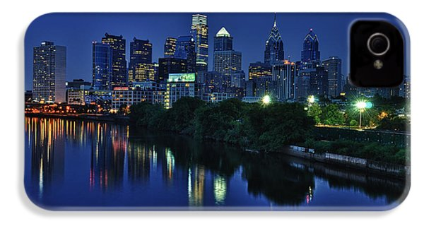 Philly Skyline IPhone 4 / 4s Case by Mark Fuller