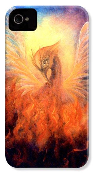 Phoenix Rising IPhone 4 / 4s Case by Marina Petro