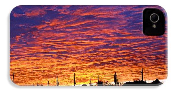 Phoenix Sunrise IPhone 4 / 4s Case by Jill Reger