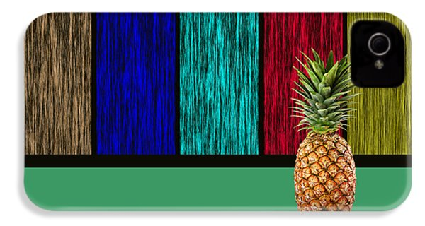 Pineapple IPhone 4 / 4s Case by Marvin Blaine