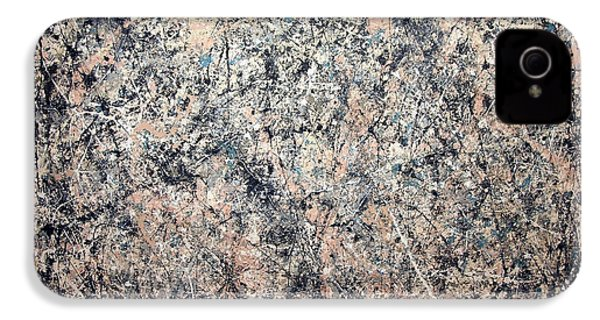 Pollock's Number 1 -- 1950 -- Lavender Mist IPhone 4 / 4s Case by Cora Wandel