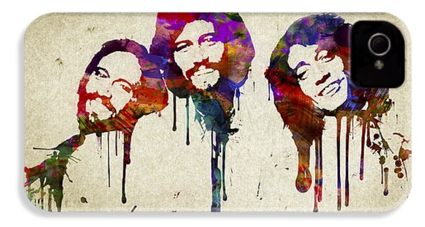 Portrait Of The Bee Gees IPhone 4 / 4s Case by Aged Pixel
