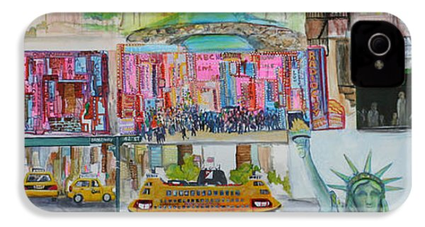 Postcards From New York City IPhone 4 / 4s Case by Jack Diamond