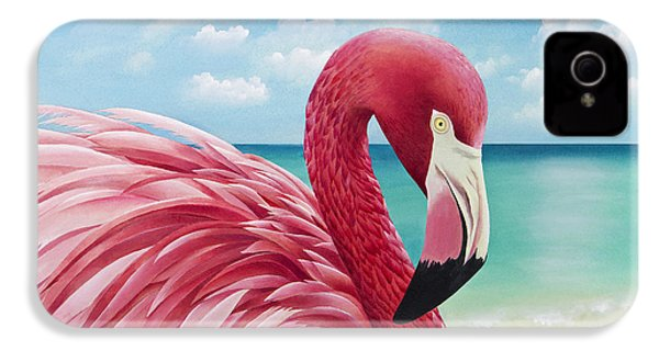 Pretty In Pink IPhone 4 / 4s Case by Carolyn Steele