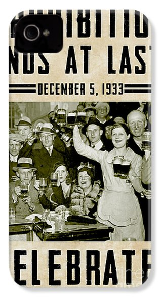 Prohibition Ends Celebrate IPhone 4 / 4s Case by Jon Neidert