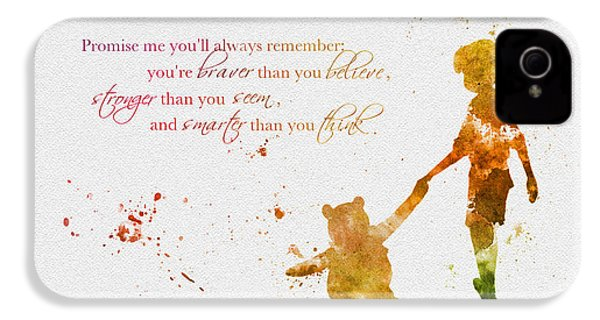 Promise Me You'll Always Remember IPhone 4 / 4s Case by Rebecca Jenkins