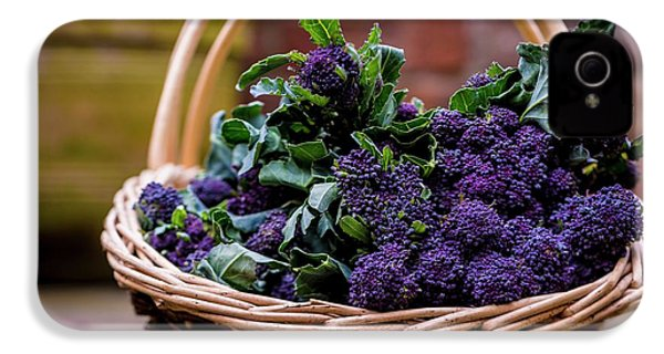 Purple Sprouting Broccoli IPhone 4 / 4s Case by Aberration Films Ltd