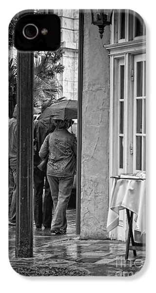 Rainy Day Lunch New Orleans IPhone 4 / 4s Case by Kathleen K Parker