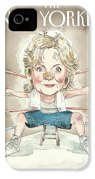 Ready For A Fight IPhone 4 / 4s Case by Barry Blitt
