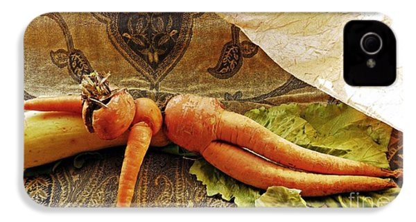 Reclining Nude Carrot IPhone 4 / 4s Case by Sarah Loft