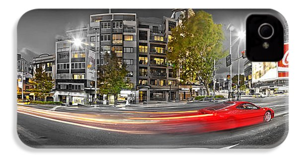 Red Lights Sydney Nights IPhone 4 / 4s Case by Az Jackson