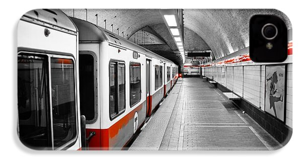 Red Line IPhone 4 / 4s Case by Charles Dobbs